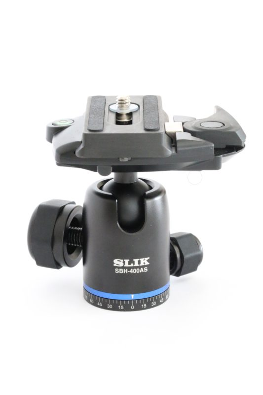 New Compact Ball Head with Arca-type QR plate