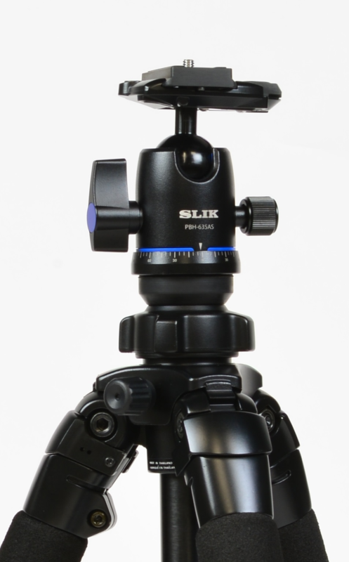 New Ball Head with Arca-Type QR Plate