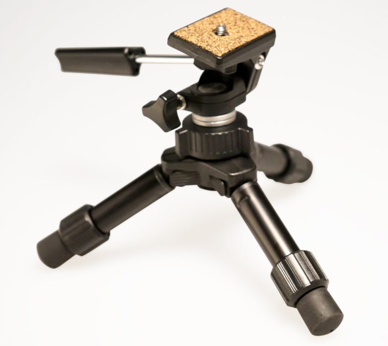 Convert from monopod to mini tripod
